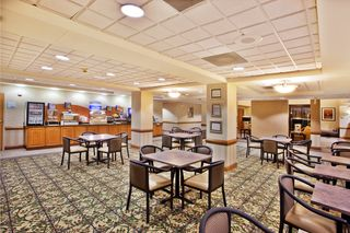 Our breakfast area is a great place to relax & fuel up