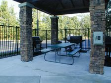 Guest Patio and Barbecue grills