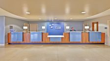 A warm welcome to the Holiday Inn Express & Suites O'Hare