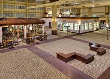 Our Large Atrium at the Holiday Inn North Shore