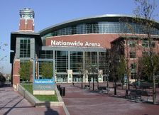 Nationwide Arena- Columbus Blue Jackets, Columbus Ohio