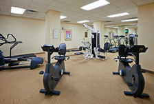 Our fitness center is a great place to stay fit