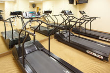 Get in a great workout in our spacious fitness center