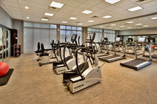 Work out in our well-appointed Fitness Center