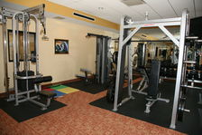 Free Weights are Available in the 24 Hour Fitness Center