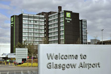 Just a few metres from Glasgow International Airport