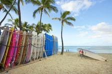 Waikiki Beach access