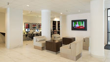 Relax in our Houston Holiday Inn Lobby