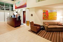 Our Lobby is a great place to meet with family and friends.