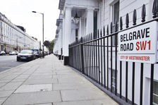 View of the Belgrave Road from Pimlico end