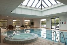Enjoy a swim in our spacious pool area at Holiday Inn Luton South