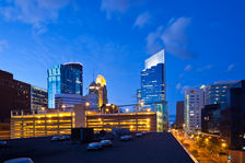 Holiday Inn Express & Suites Dwtn Mpls Conv Ctr - Rooftop Skyline