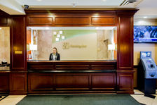 Front Desk at Holiday Inn Chicago O'Hare Airport Hotel