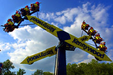 Wave Swinger Ride At Kennywood