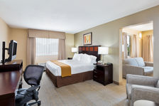 Spacious and inviting King Suite