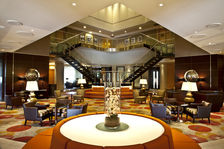 Arrive at the atrium and enjoy the relaxing ambience