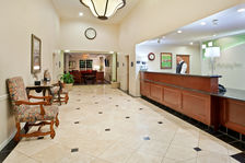 Beautiful Hotel Lobby & Front Desk Area