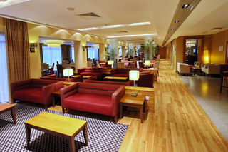 Guest Lounge at Holiday Inn Express Southampton M27 Jct7