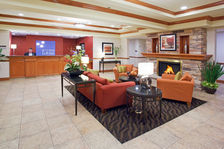 Relax after a long day of work in our comfortable lobby in Vernal.