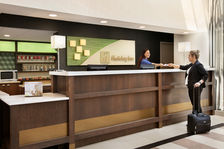 Our friendly Front Desk staff will welcome you with a smile.