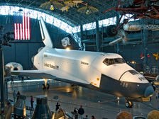 Space Shuttle at the Udvar Hazy Center