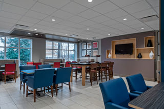 Enjoy breakfast in our Breakfast Area