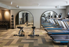 Ride away the stress in our in house fitness centre