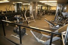 Stay on your fitness schedule at our nearby offsite gym